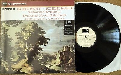 HIQLP040 Hi-Q Supercuts (SAX 2514) Schubert Symphony 5 and 8, Klemperer