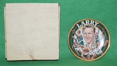 """*1992 Sports Impressions Larry Bird Collectible 4"""" Mini Plate"""