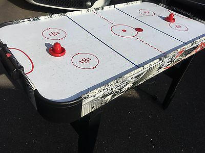 Electric Air Hockey Table Approx 4ft x 2ft