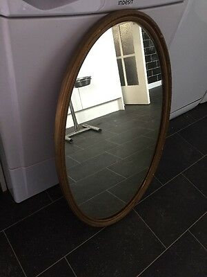 Antique Oval Round Mirror