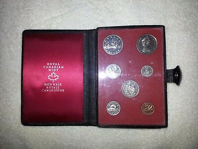 1972 ~ Canadian 7 Coin Prestige Set ~ Double Dollar