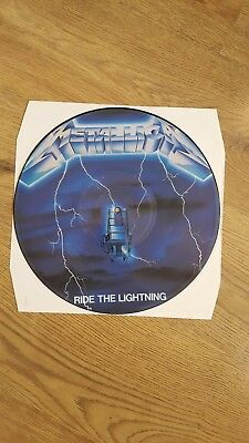 Metallica ride the lightning picture disc MFN 27P