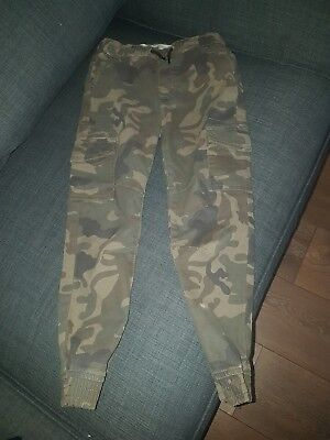 Boys camouflage trousers age 7-8 years