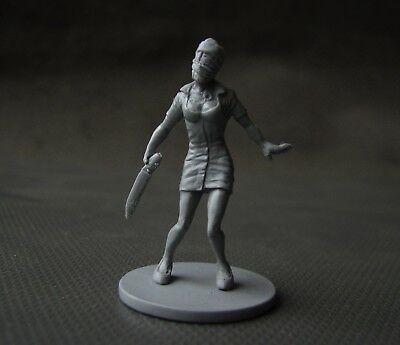Silent Hill Nurse Zombie 32 mm Handmade Resin Cast Zombicide compatible as VIP