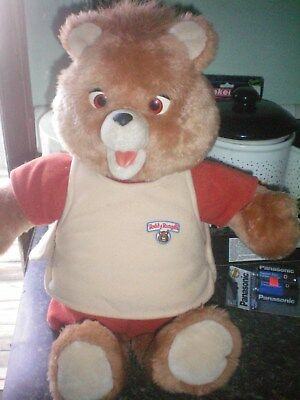 Vintage 1985 Teddy Ruxpin Animated Bear With Teddy Ruxpin The Airship Cassette