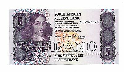South Africa (P119d) 5 Rand 1989 UNC