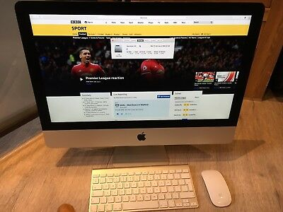 Apple iMac 21.5 (Late 2013) - Hardly Used 1TB HD 8GB Ram