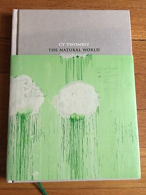 Cy Twombly: The Natural World: Selected Works, 2000-2007, hardcover, in German