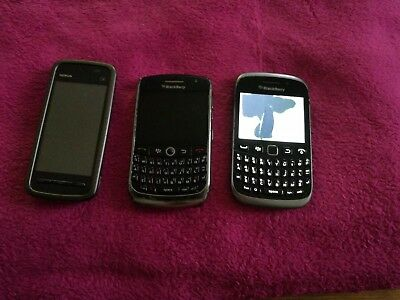 joblot mobile phones bundle  blackberry/ nokia