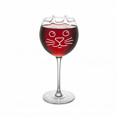 The Purrfect Wine Glass - Cat - Kitten - Brand New