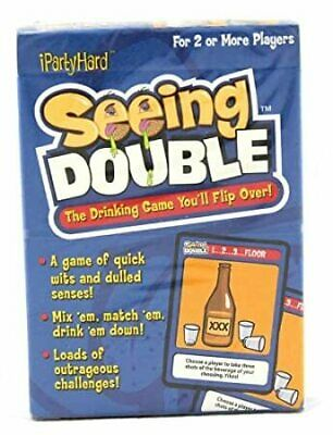 Seeing Double Drinking Card Game - Brand New
