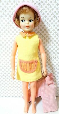 vintage 60s Ideal Tammy Pepper doll, made in Japan 1964, Barbie Skipper Licca❤