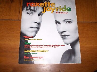 Roxette  'joyride - The Interview' Media Promo Pack - Mint