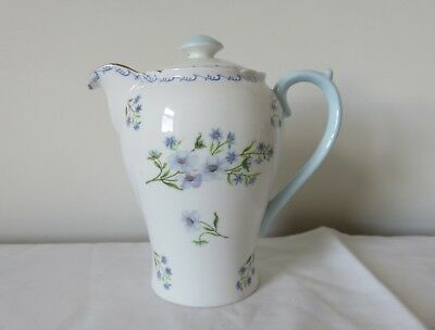Shelley 'Blue Rock' 3/4 Pint Hot Water Pot 1925 - 1945