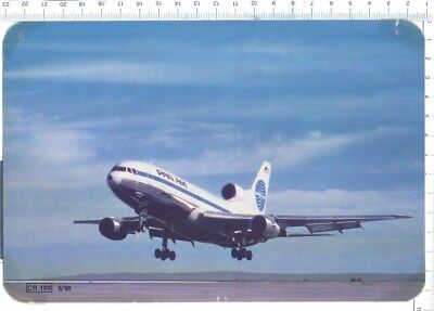 PAN AM   Tristar       Aviation Airline Issue Postcard