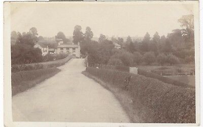 Wixford, shows Fish Inn RP nr. Alcester, Redditch, early view