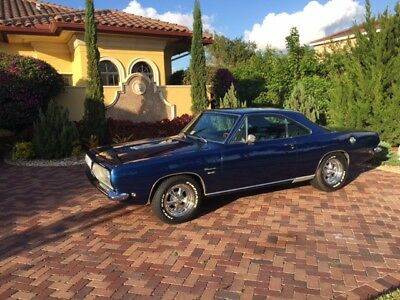 1968 Plymouth Barracuda coupe PLYMOUTH BARRACUDA RESTORED