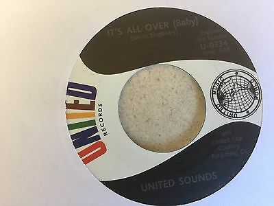 northern soul UNITED SOUNDS - IT'S ALL OVER (BABY)