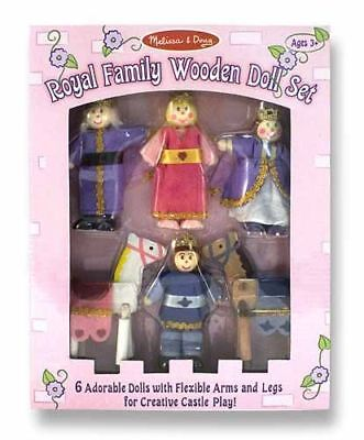 Royal Family Wooden Doll Set - Doll Houses by Melissa & Doug (286)