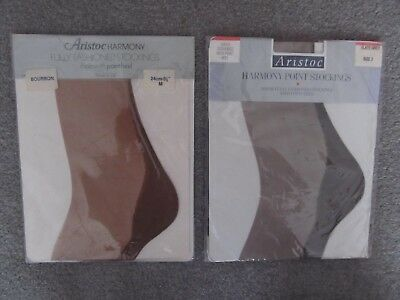 2 Pairs Aristoc Harmony F/F Stockings