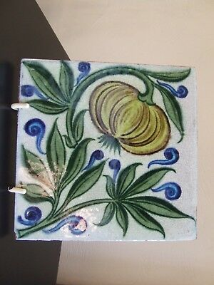 William De Morgan Tile Known As Fruiting Plant Pattern