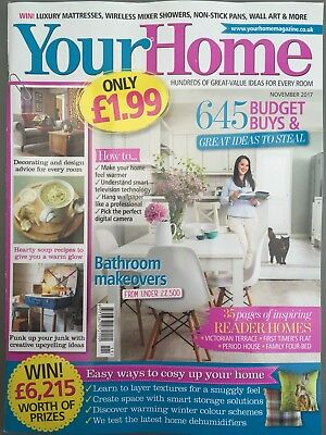 Your Home Magazine November 11/2017 645 Budget Buys Reader Homes Current Issue