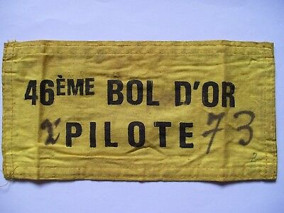 TT Races Superbikes 46th Bol d'Or 1982 Riders Armband