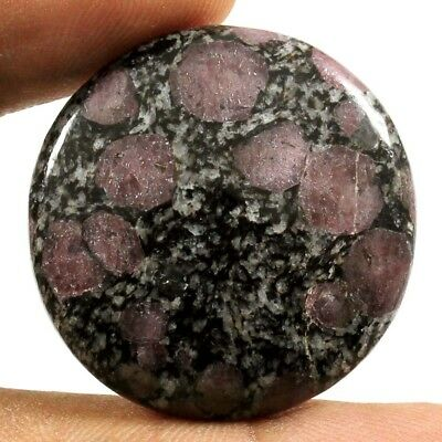 47.40cts 100% Natural Exclusive Designer Ruby Fall Cabochon Round Loose Gemstone