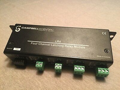 Campbell Scientific LR4: Four Channel Latching Relay Module