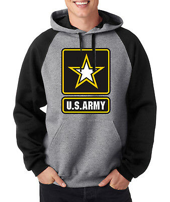 ARMY ARCHED HOODIE United States Military Hooded Sweatshirt Usarmy Ranger US USA