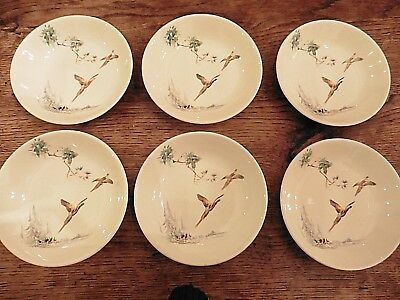 Royal Doulton The Coppice  - small cereal / fruit bowls x 6 - Excellent conditio