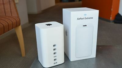 Apple AirPort Extreme 1300 Mbps 3-Port 1000 Mbps Funk Router (ME918Z/A) wie neu
