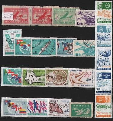 Korea  Lot Of Stamps #22T