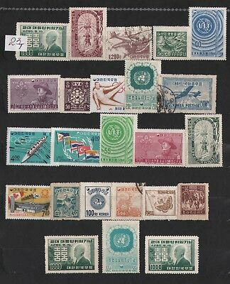 Korea Lot Of Stamps #23T