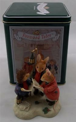Villeroy & and Boch FOXWOOD TALES Winter Heavenly Voices FT13 Carol Singers