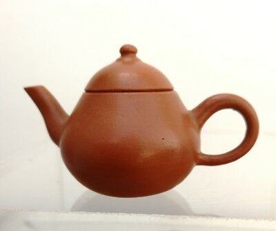 Superb Chinese Yixing  Miniature Teapot Signed