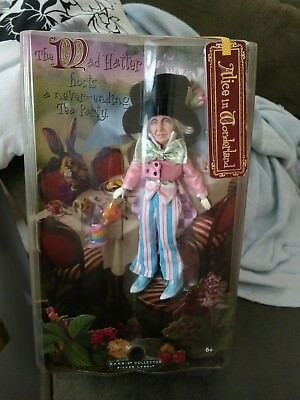 "ALICE IN WONDERLAND ""MAD HATTER"" DOLL 2007 Silver Label HTF Barbie Collection"