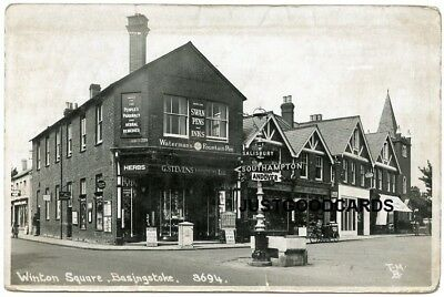 BASINGSTOKE, HAMPSHIRE - STREET SCENE No. 11 - REAL PHOTO - TERRY HUNT