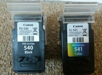 Canon C540 and C541 empty Ink Cartridges