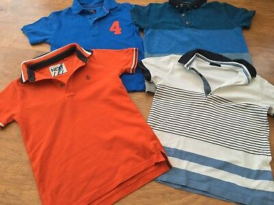 Next Mayoral Boys  Small Bundle Of Polo Tops 5-6Yrs
