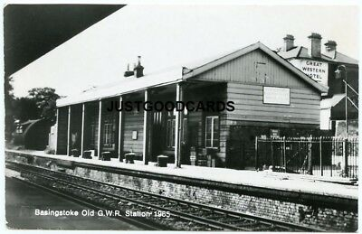 Basingstoke, Hampshire - G.w.r. Station