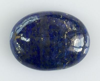18.88 Ct NATURAL BLUE LAPIS LAZULI OVAL CABOCHON LOOSE GEMSTONES 15.5 X 20.8 MM