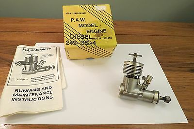 P.a.w. 249-Ds-4 Model Aircraft Diesel Engine