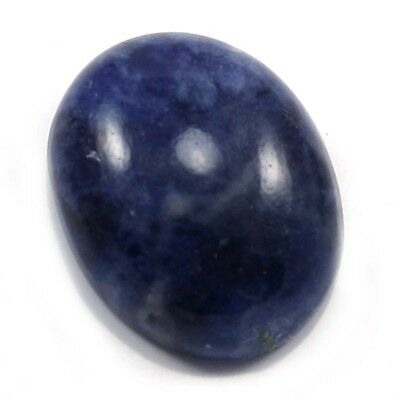 11.55 cts Natural Beautiful Sodalite Gemstone Oval Loose Cabochon For Jewelry