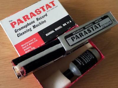 Vintage Parastat Model MK 11 A Record Vinyl Cleaning Kit Discwasher