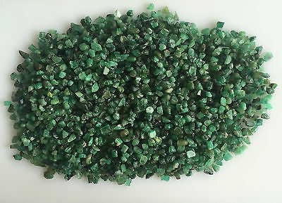 408Ct Natural Emerald Green Rough Gemstones Loose Mineral Lot Raw Wholesale Nice