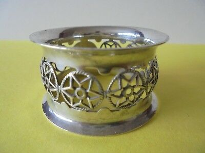 Antique Hallmarked Sterling Silver Napkin Ring 1903 - 18.3 Grams