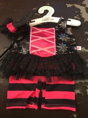 BUILD A BEAR Halloween Witch Costume