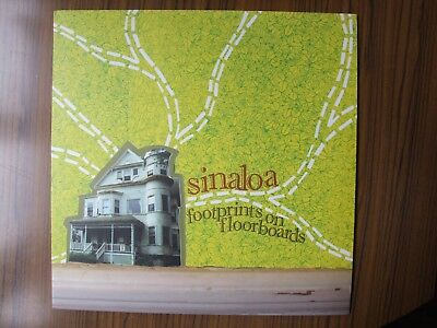 "Sinaloa ""footprints On Floorboards"" Emo Screamo  Punk Mint-First Press"