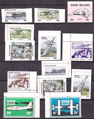 GB Locals - Scilly - Gugh Island - nice mix stamps & covers - see all scans
